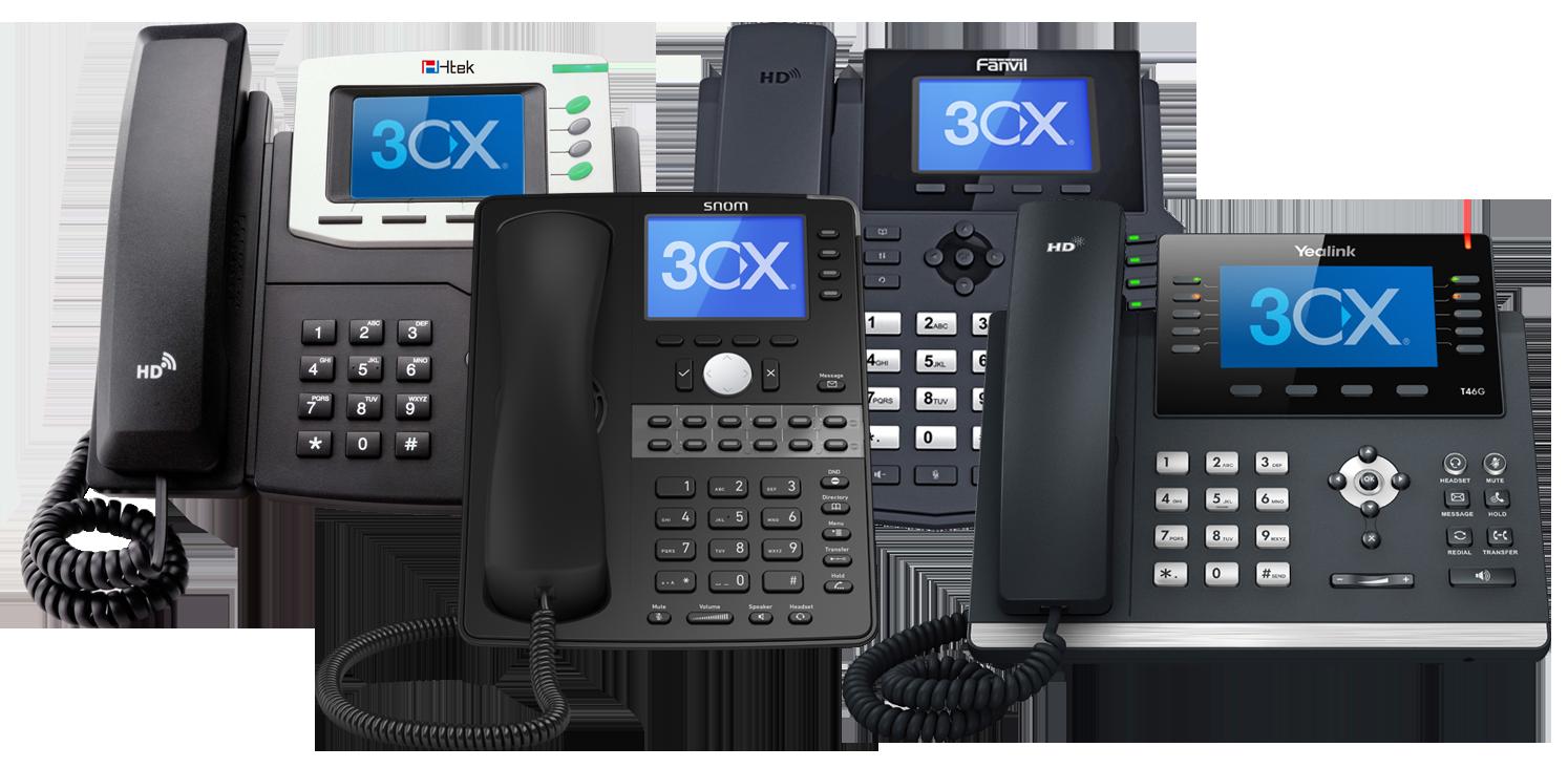3CX - an open standards IPBX software | SLP IT Solutions TI